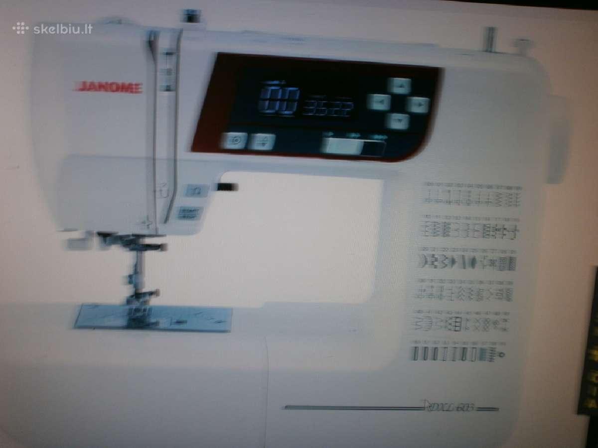 Kompiuterinė siuvimo mašina Janome Dxl 603