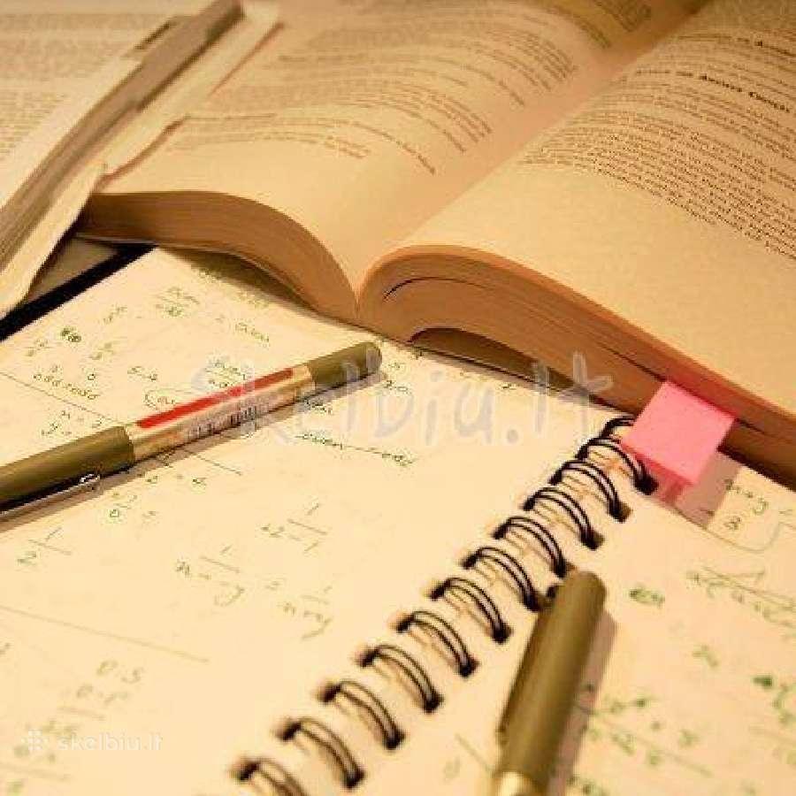 Ruošimas egzaminams, papildomas mokymas - 13 metų!
