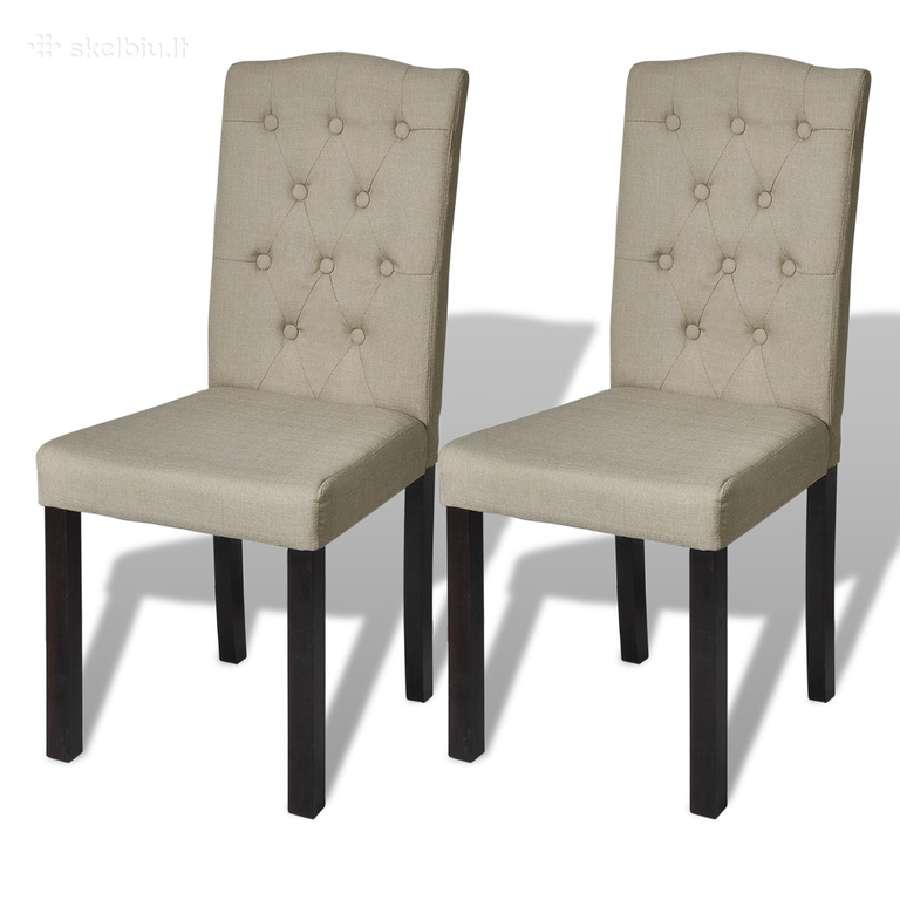 Antikvarinio Stiliaus Valgomojo Kėdžių Komplektas