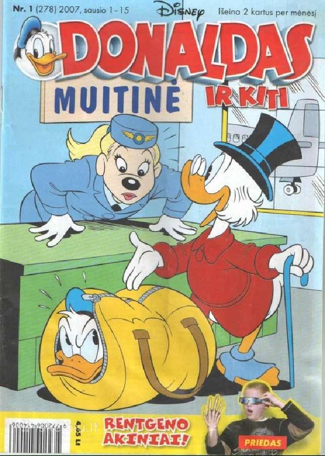 Perku Donaldas ir kiti žurnalus
