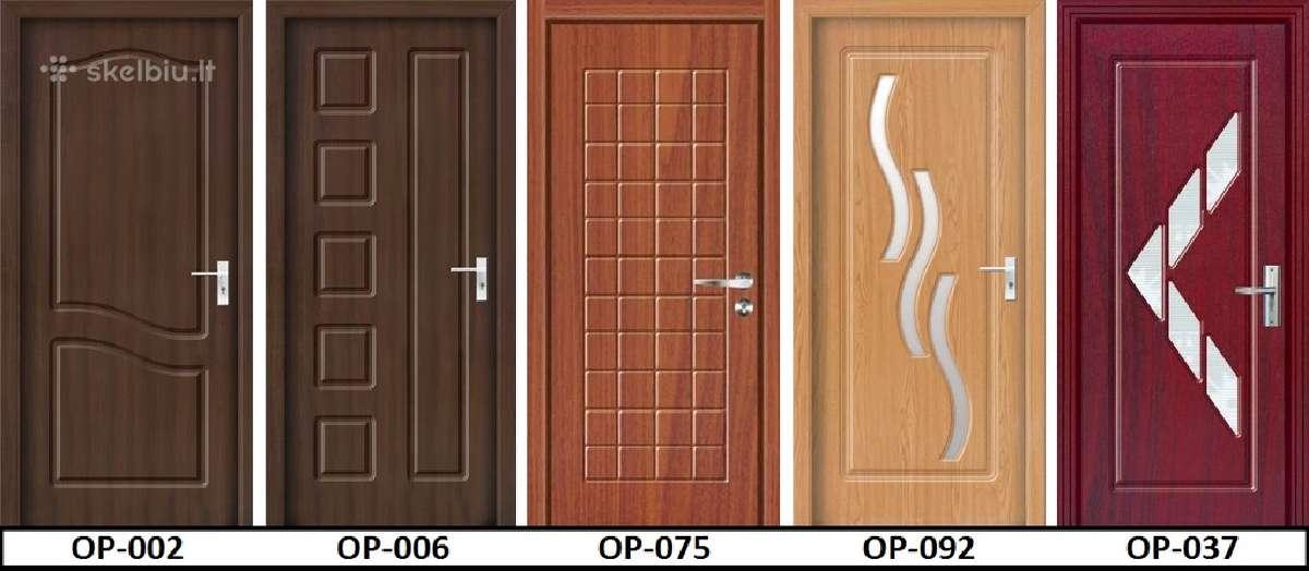Vidaus durys. Išpardavimas! Pilnas komplektas 80 €