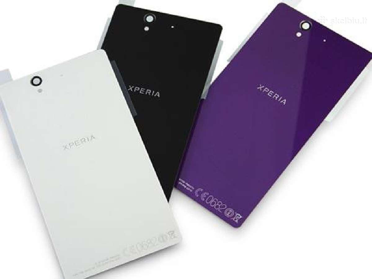 Sony Xperia Z Z1 Z2 Z3 naujos nugarėlės