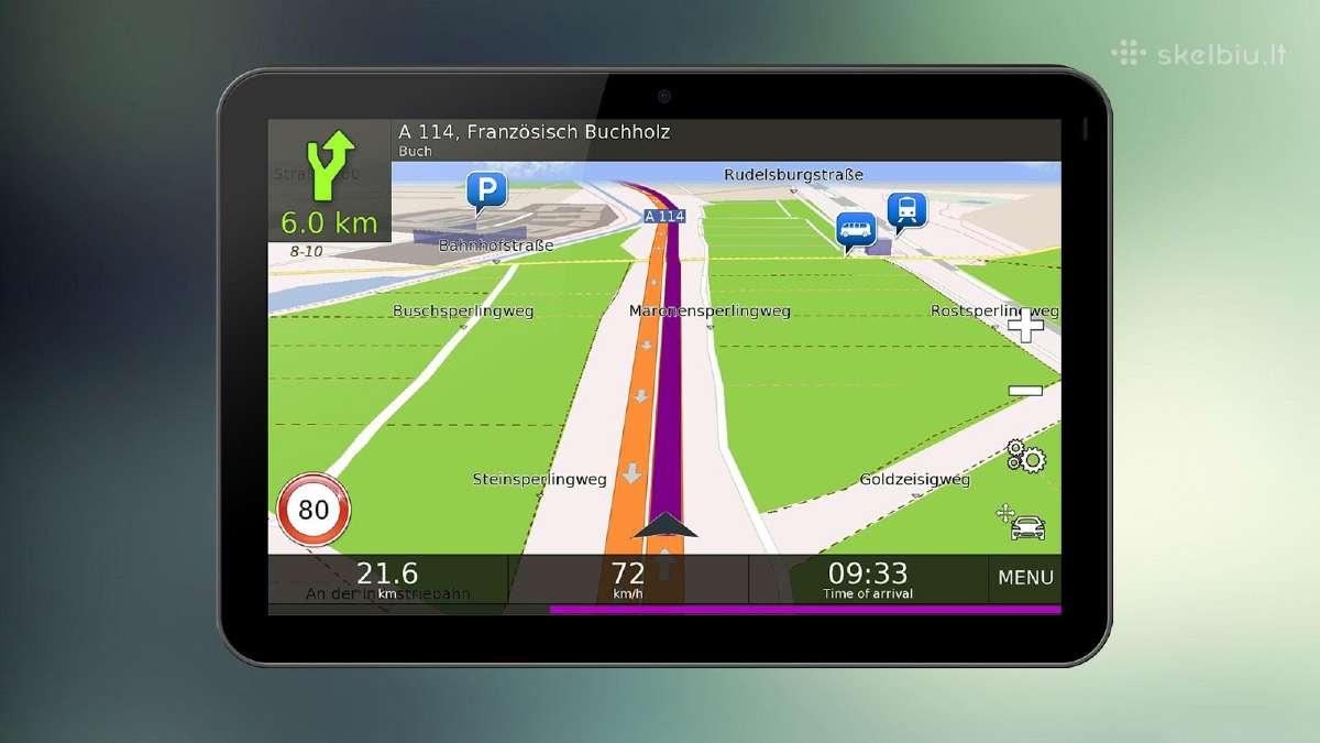 GPS navigacijų žemėlapių atnaujinimas - 15
