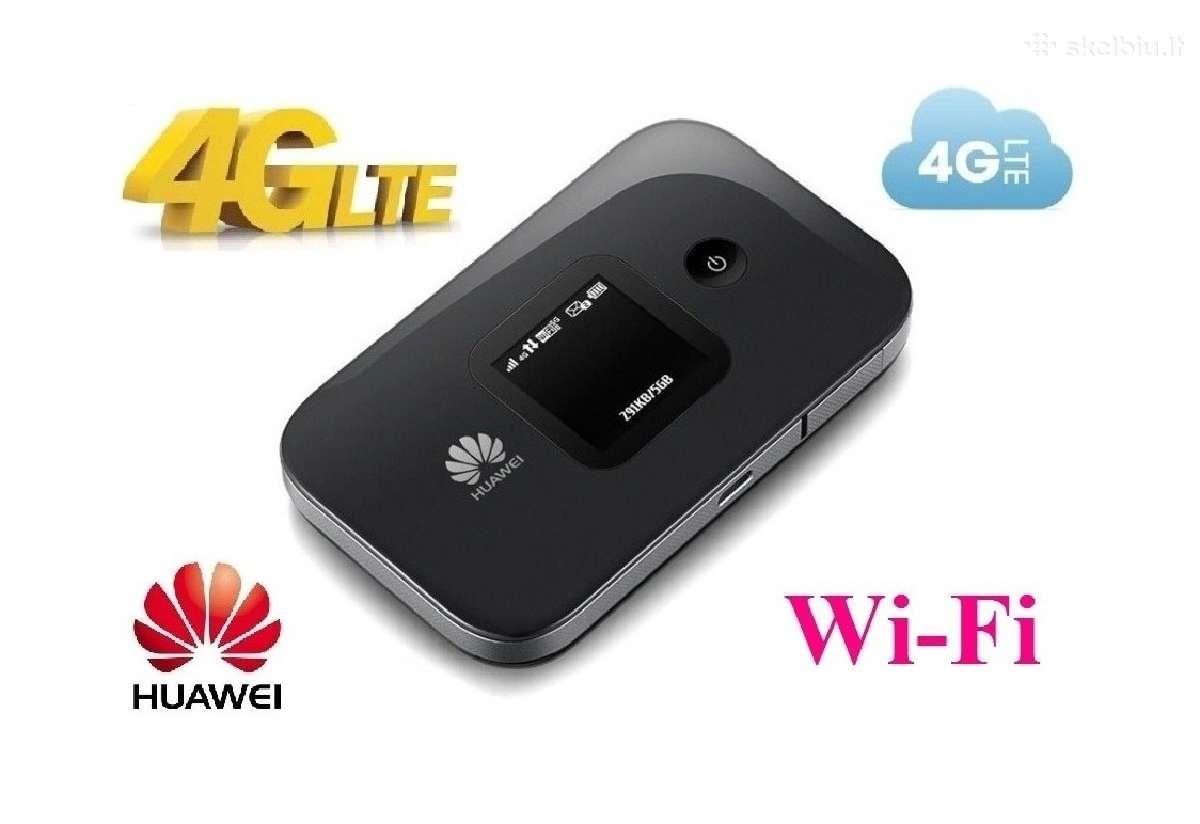 4G maršrutizatorius modemas Lte WiFi su baterija