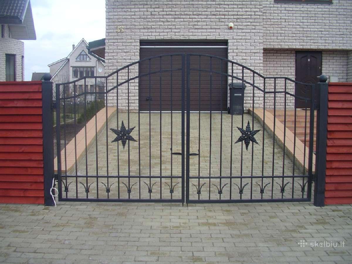 Tvorų, vartų montavimas