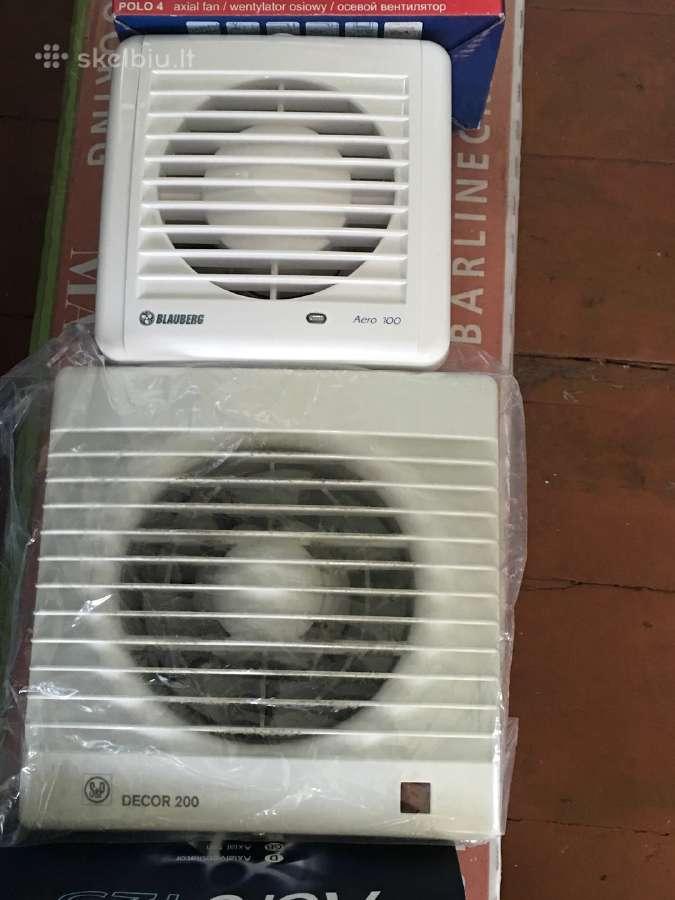 Buitiniai ventiliatoriai Blauberg ir Decor