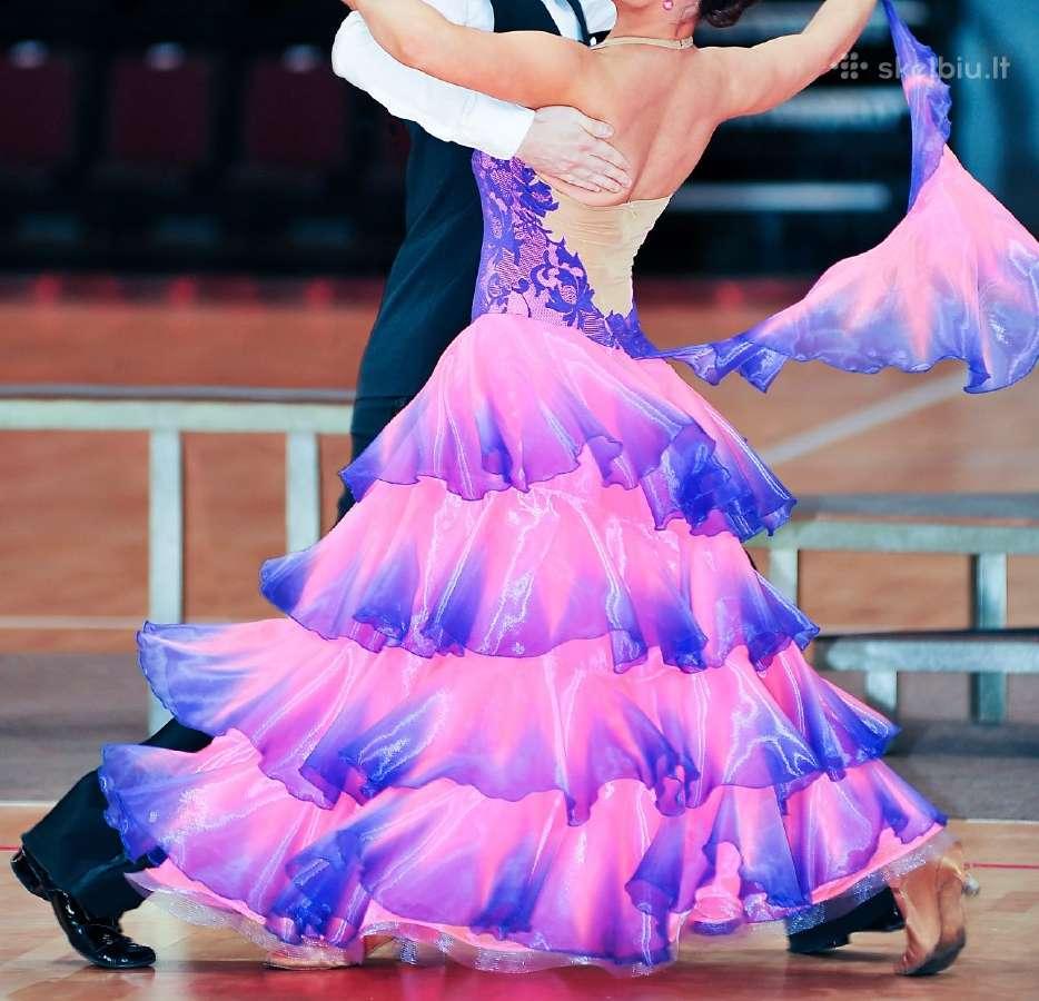 Sportinių šokių suknelė