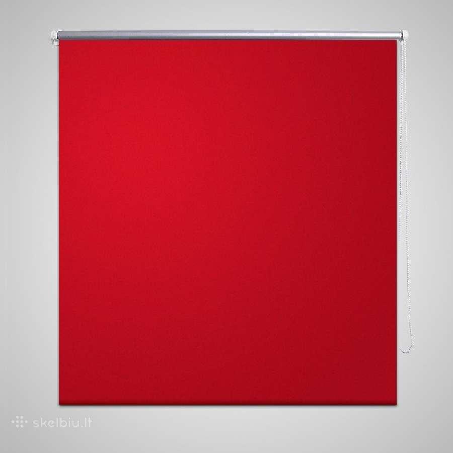 Naktinis Roletas 100 x 175 cm, Raudonas, vidaxl