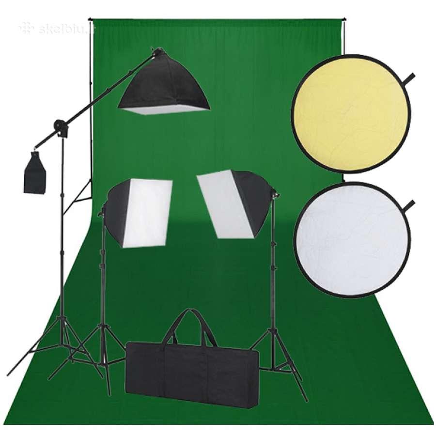 Rinkinys Fotostudijai, vidaxl
