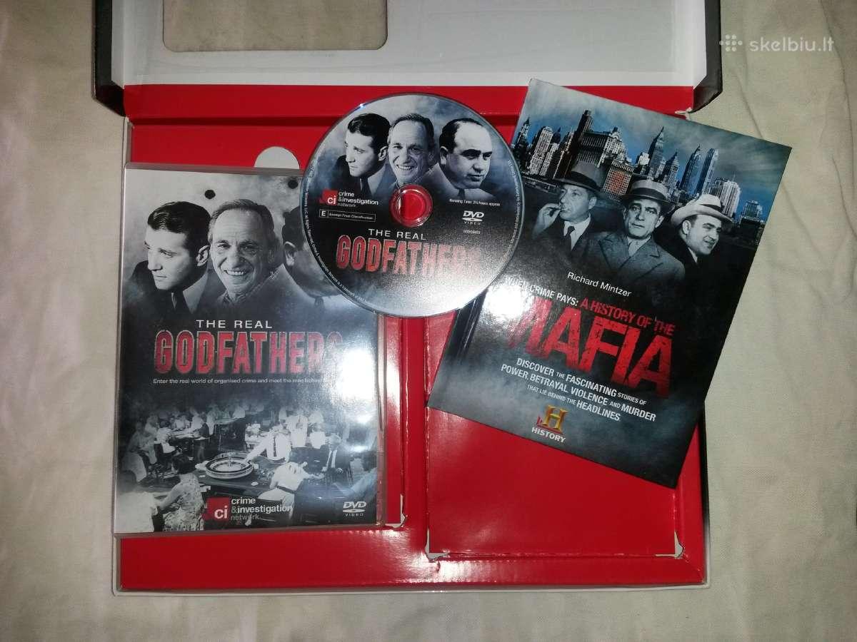 Naujas kolekcinis rinkinys dvd-knyga Godfathers