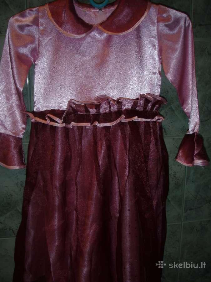 Puosni suknele mergaitei