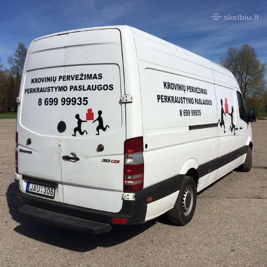 Krovinių pervežimas. Perkraustymas. Vilnius