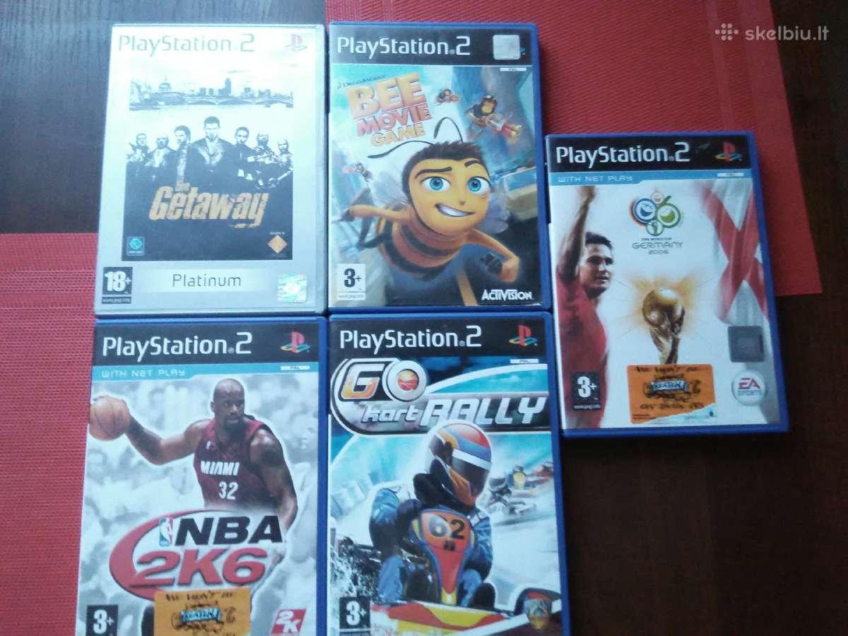 Originalūs Playstation 2 žaidimai