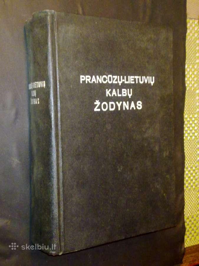 Prancūzų-lietuvių kalbų žodynas (50 tūkst. žodžių)