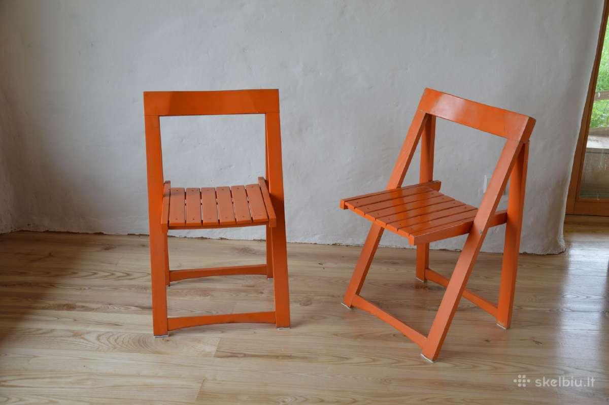 Terasos kėdės.