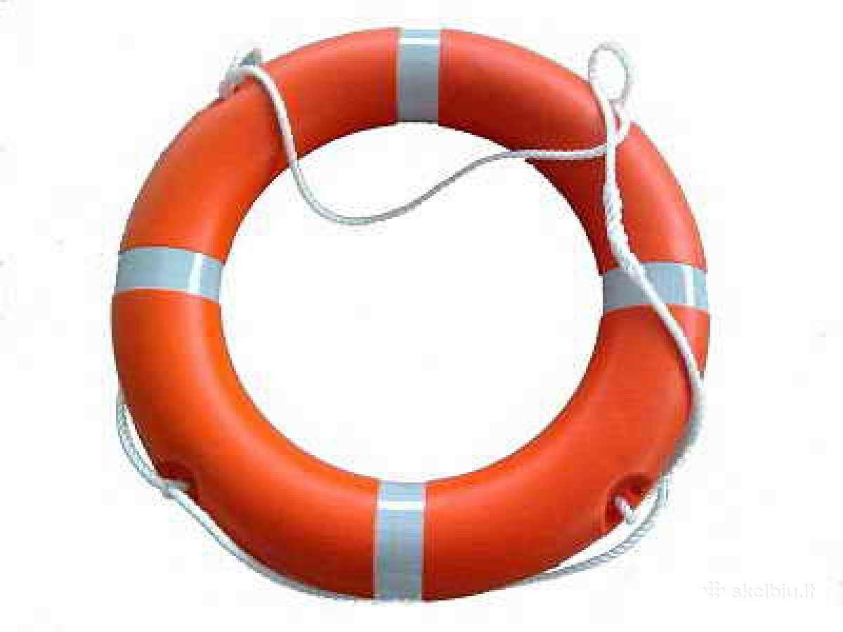 Naujas Sertifkuotas gelbėjimosi ratas