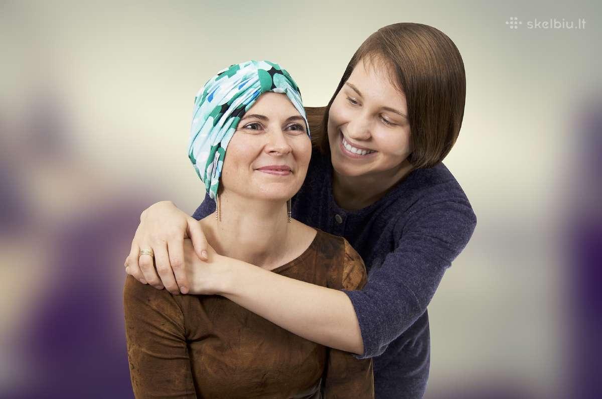 """""""Emandia"""" galvos apdangalai po chemoterapijos"""