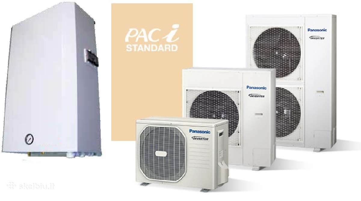 Nauji Panasonic šilumos siurbiai oras-vanduo