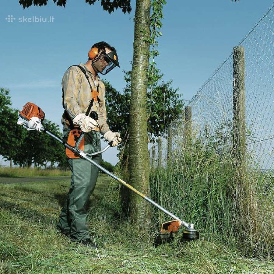 Žolės pjovimas Klaipėda