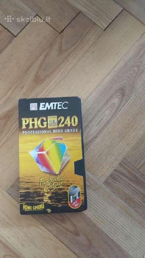 Video kasetės