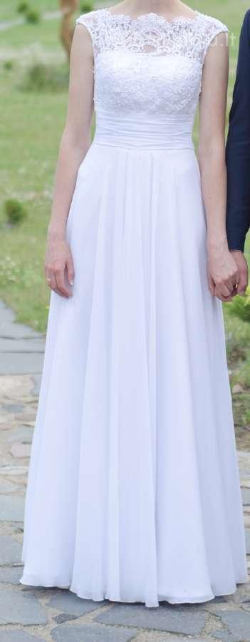 Vestuvinė suknelė su priedais