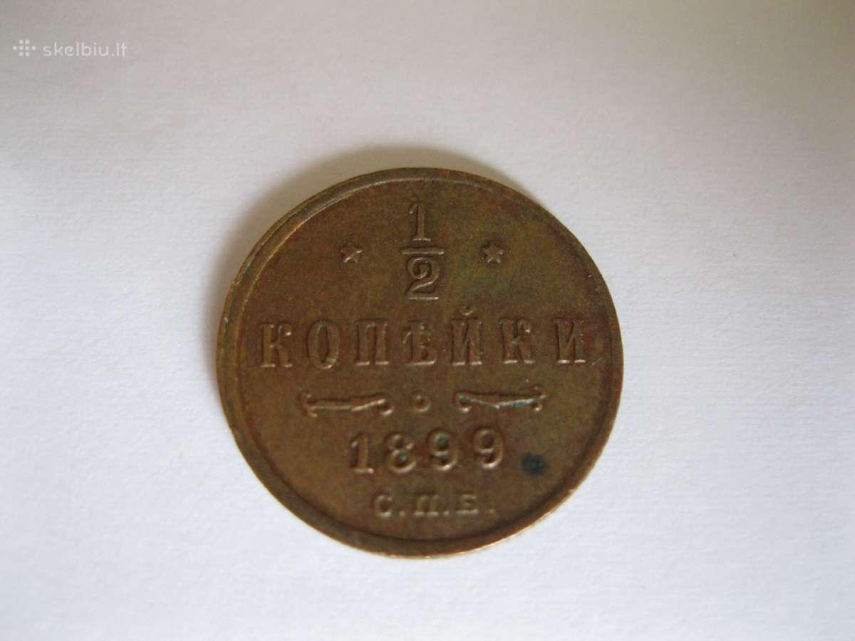 Rusu Carine moneta. .zr. foto. Originalas Is Kolek