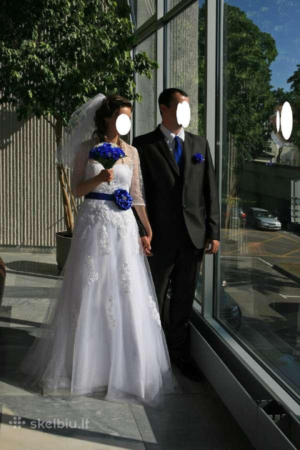 Parduodu labai gražią vestuvinę suknelę
