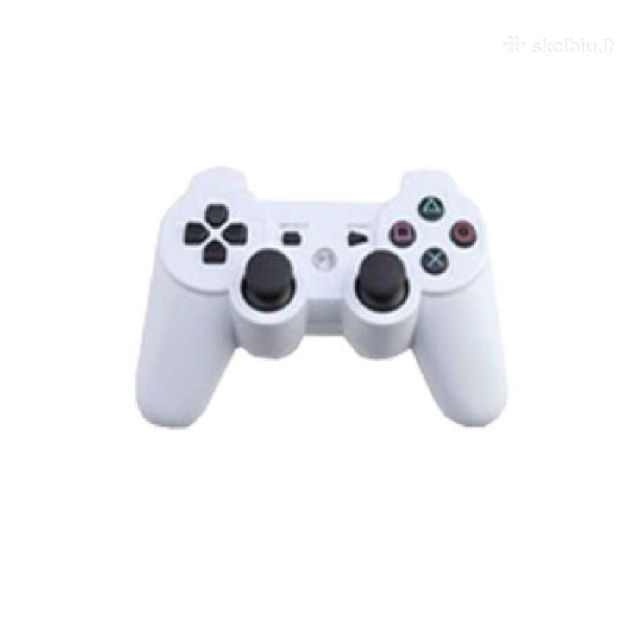 Naujas PS3 žaidimų pultelis, juodas.