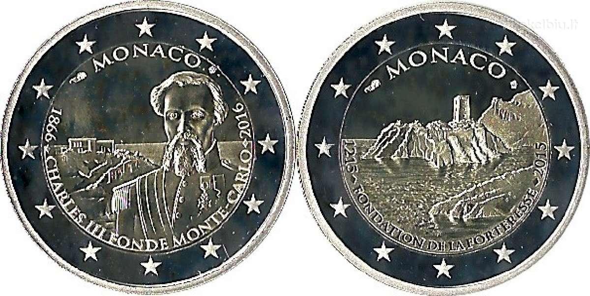 Reciausios 2 euro progines monetos! - Monakas