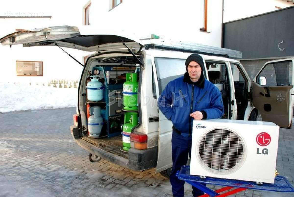 Oro kondicionieriai atlas,coolix,šilumos siurbliai
