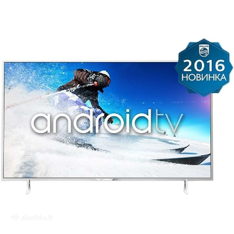 Philips Android Smart Led TV naujas