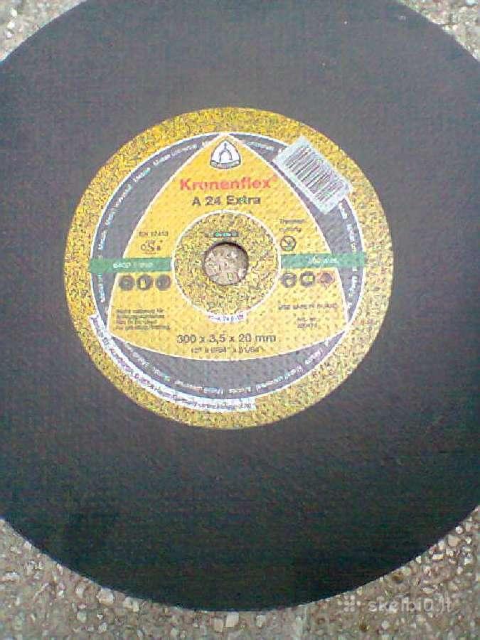Diskas metalui