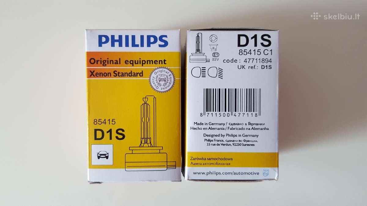 Xenon lemputes Philips D1s