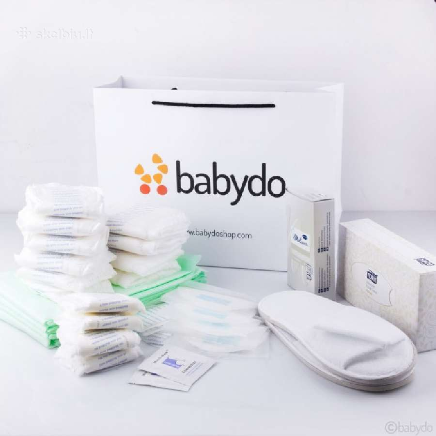 Kraitelis į ligoninę - gimdyvės krepšelis
