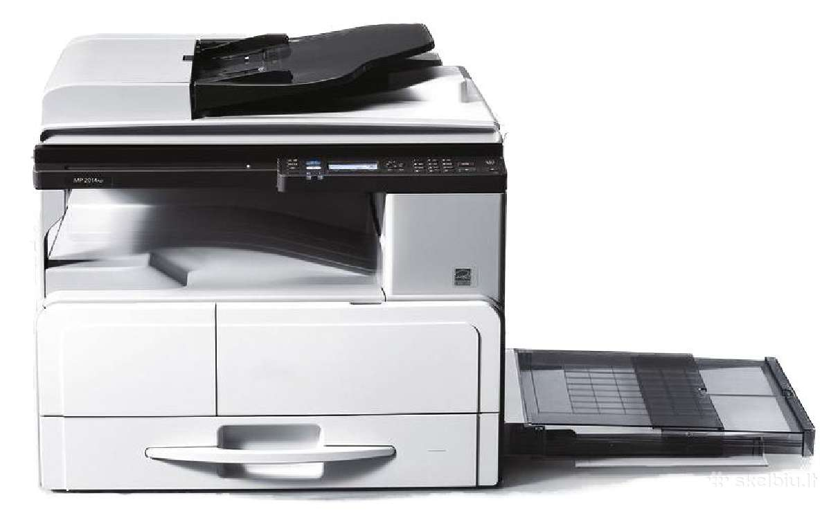 A3 lazerinis j/b spausdintuvas Ricoh Mp 2014d/ad