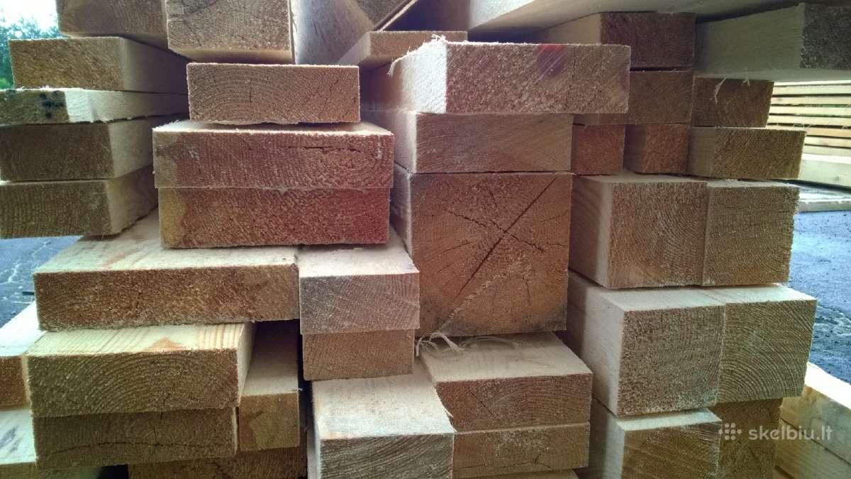 Statybinė mediena, lentos