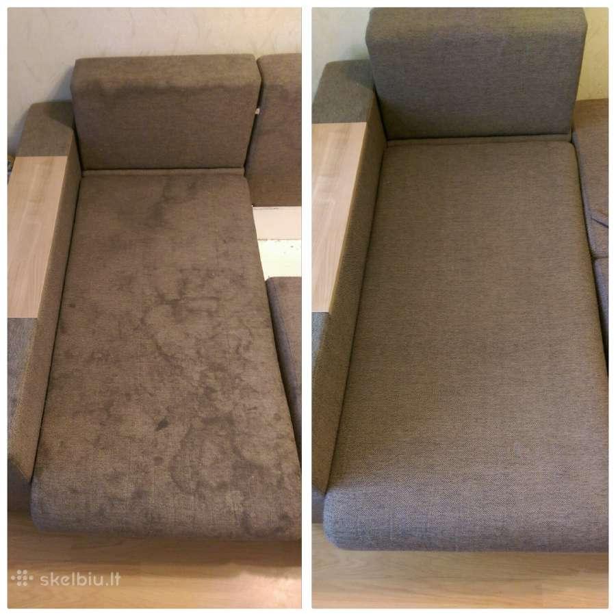 Kokybiškas baldų, kilimų, čiužinių valymas!