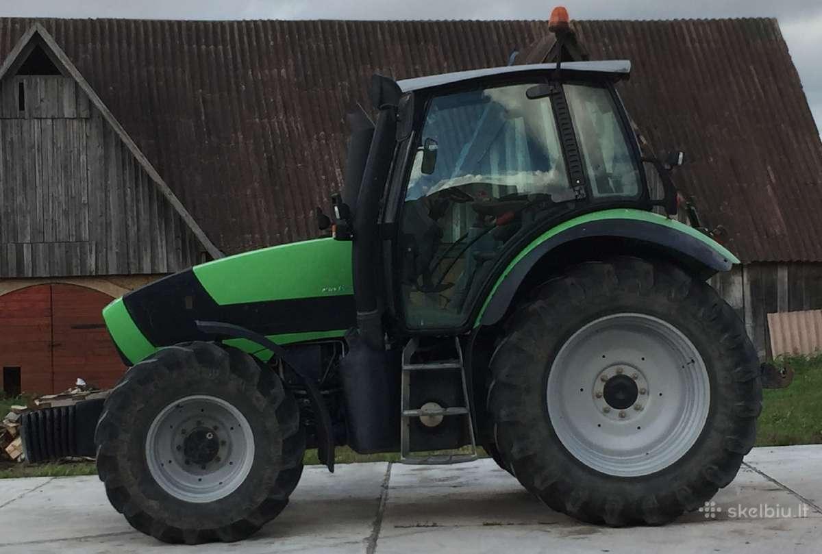 Deutz fahr agrotron m610 166hp traktorius
