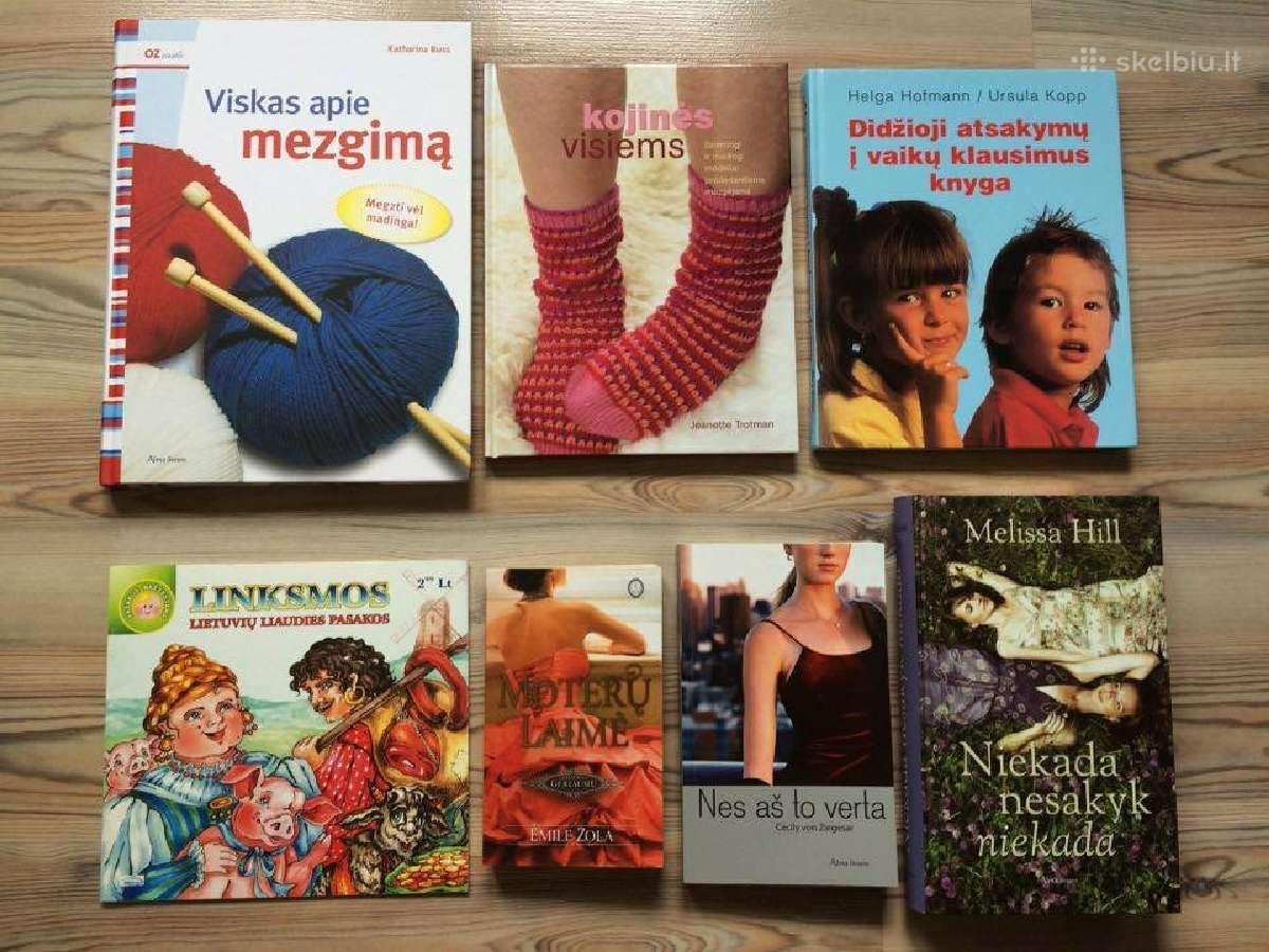 Parduodu knygas