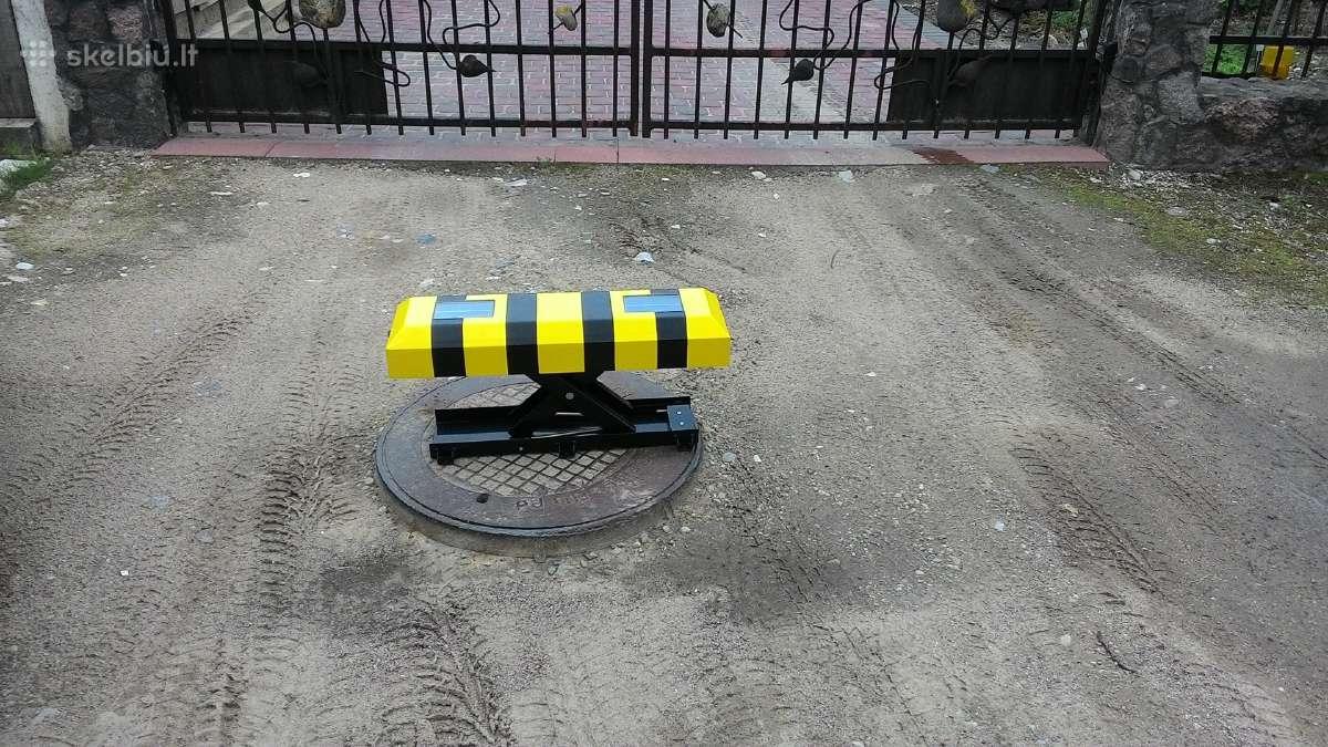 Akumuliatorinis parkavimo blokatorius