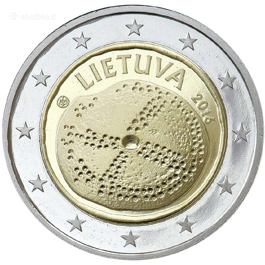Lietuva 2 euro monetos Unc