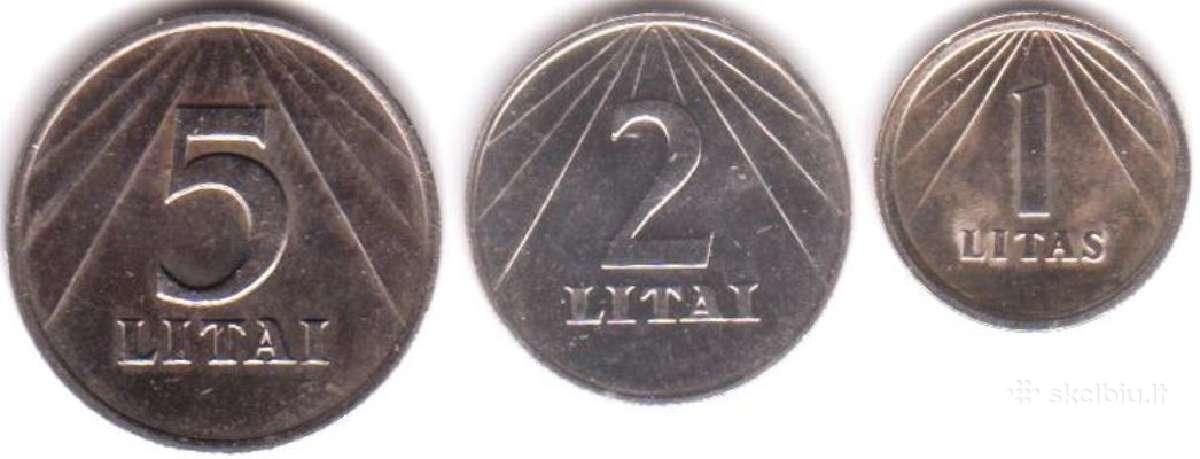 Brangiai perku Lietuviskus 1991 metalinius pinigus