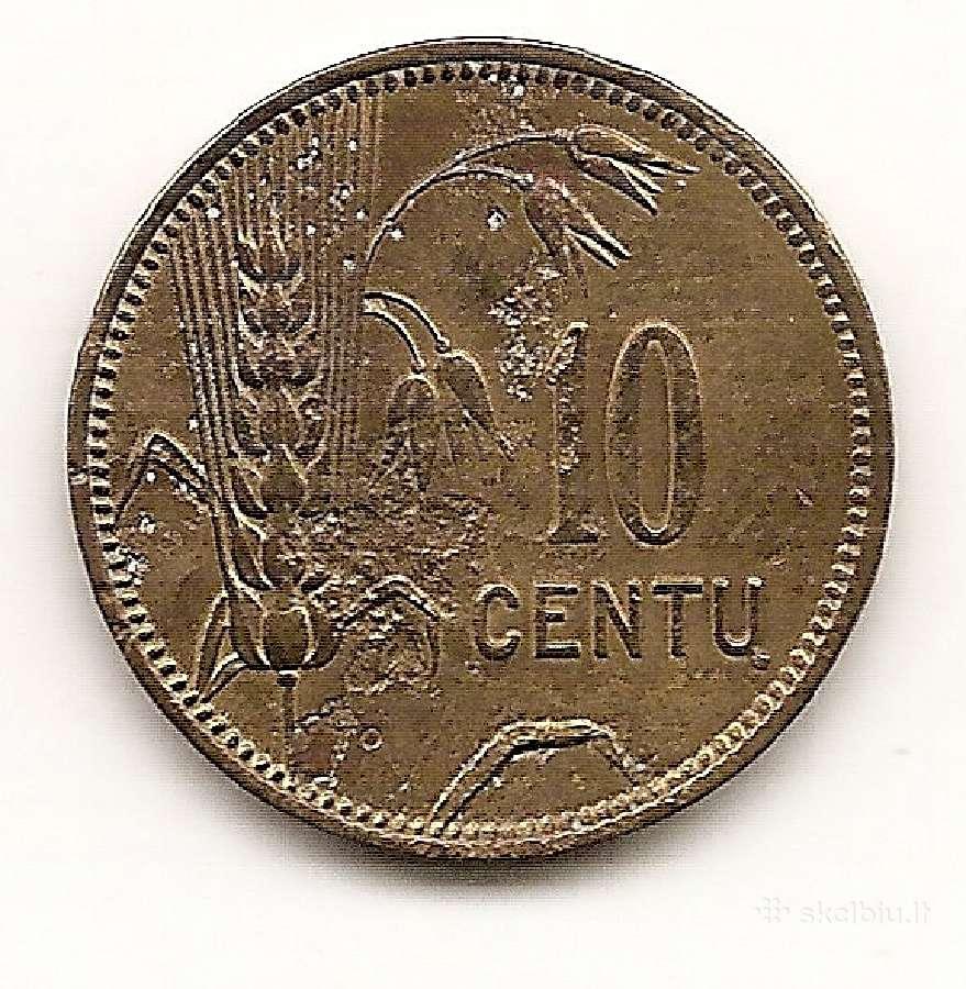 Lietuva 10 centu 1925 #73 (16100/1)