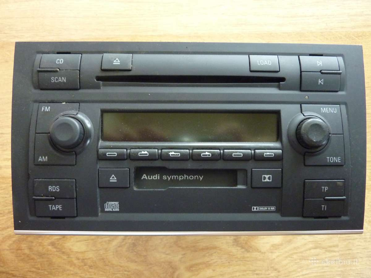 Audi A3, A4, A6, A8 Symphony grotuvai