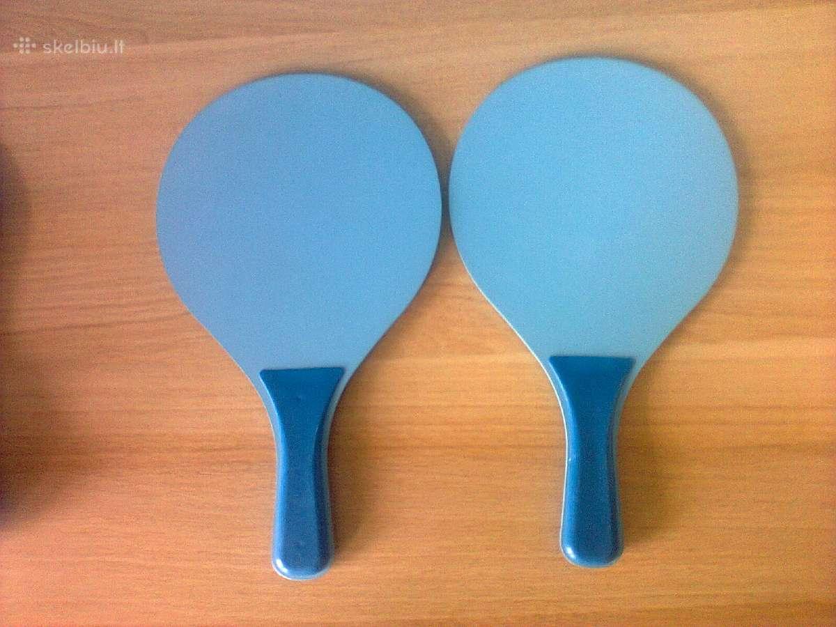 Naujos stalo teniso raketės