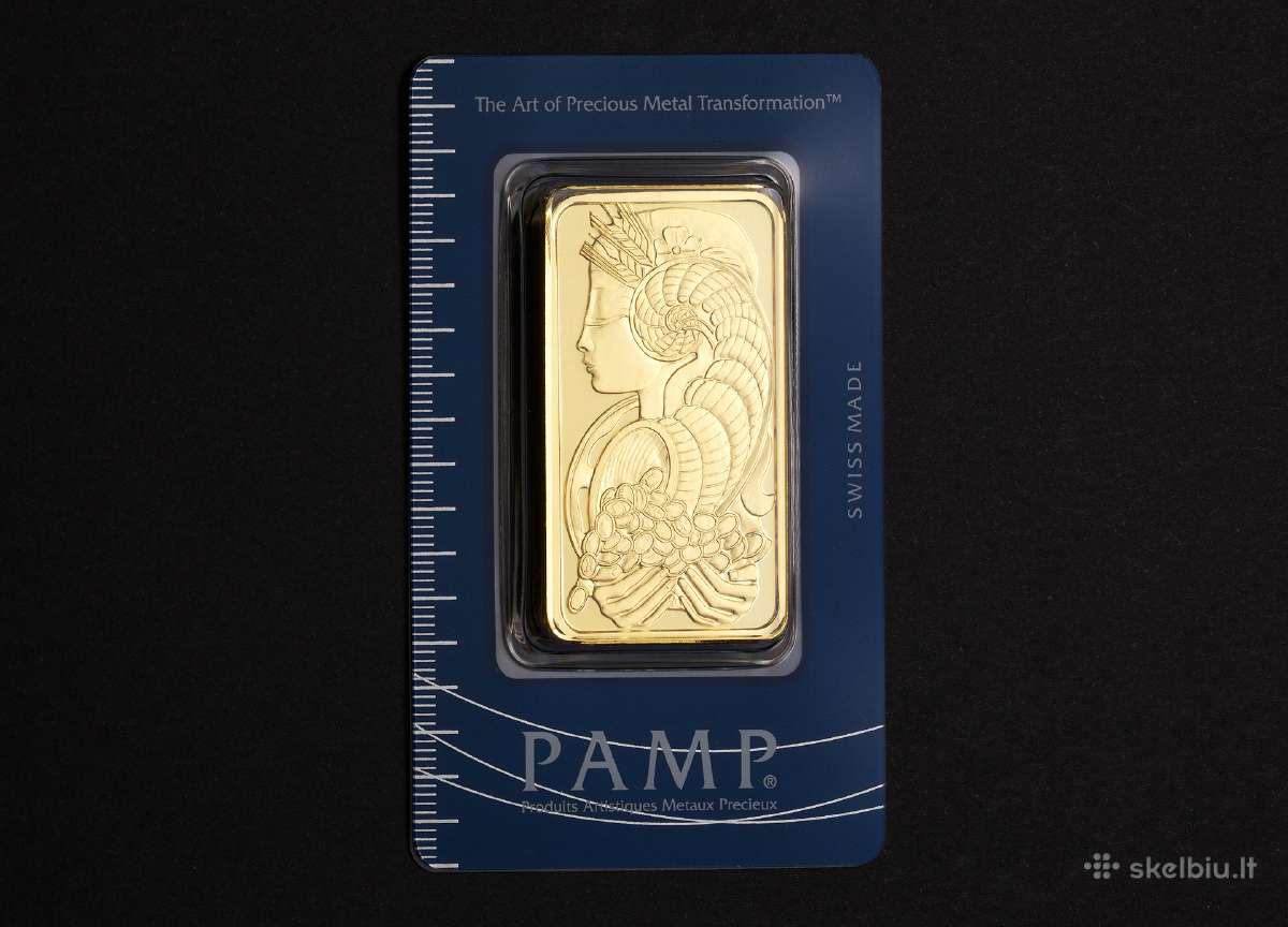 Investicinis auksas (Aukso luitai, monetos)