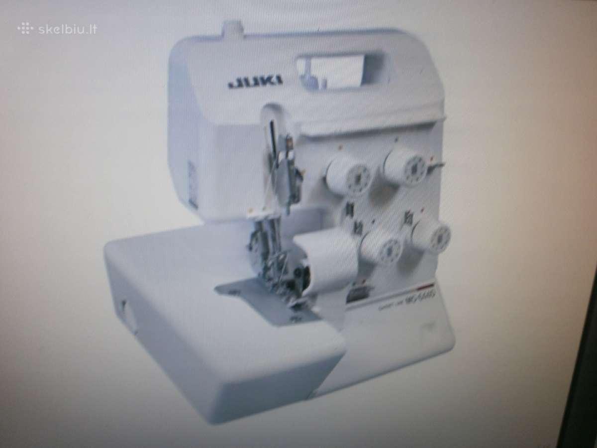 Overlokas Juki Mo-644d už 320 eur