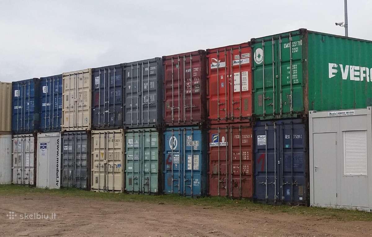 Juriniai konteineriai. Didžiausias pasirinkimas
