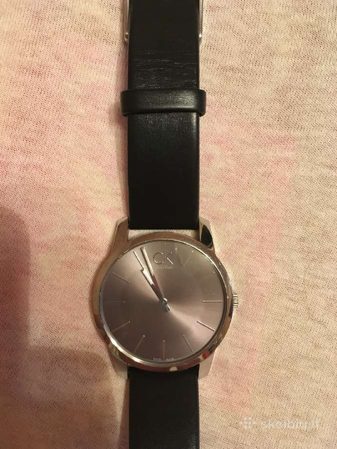 Originalus ck vyriskas laikrodis