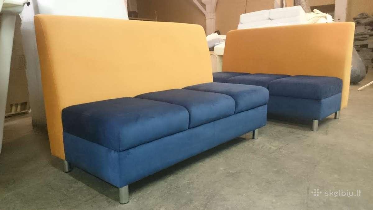 Minkšti baldai jūsų biurui,barams,kavinėms